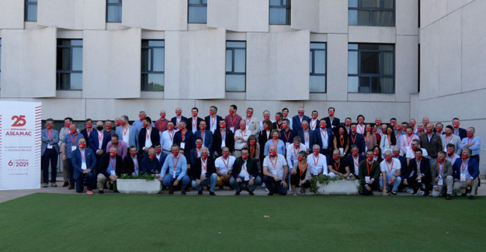 Aseamac foto grupo 25 aniversario Robustrack SL